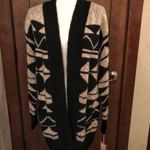 NWT - Cozy Pattered Cardigan - Mossimo